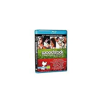 Woodstock 3 dager [BLU-RAY] USA import