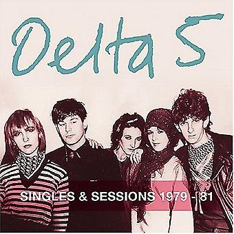 Delta 5 - Singles & Sessions-1979-81 [CD] USA import