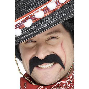 הזקן מקסיקני השודד שחור זקן מקסיקני schnäuzer