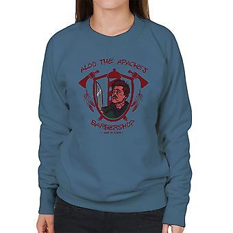 Inglourious Basterds Lt Aldo Raine Aldo de Apaches Barbershop Women's Sweatshirt