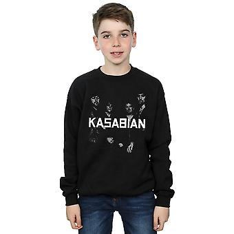 Kasabian Boys Groupie Photo Sweatshirt