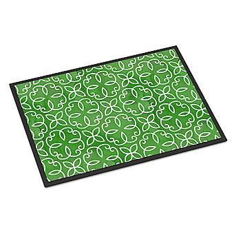 سيرلسي هندسية مائية على حصيرة الأماكن المغلقة أو في الهواء الطلق الأخضر 24 × 36