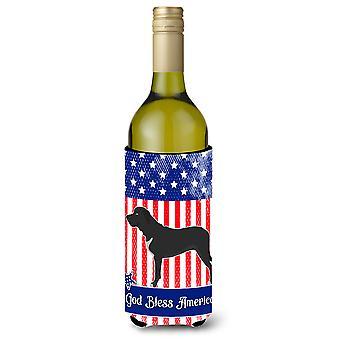 Broholmer dänische Dogge amerikanischen Weinflasche Beverge Isolator Hugger