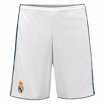 2017-2018 real Madrid Adidas Home Shorts (wit)