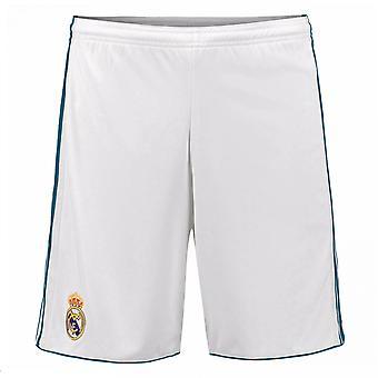 2017-2018 Real Madrid Adidas Home Shorts (weiß)