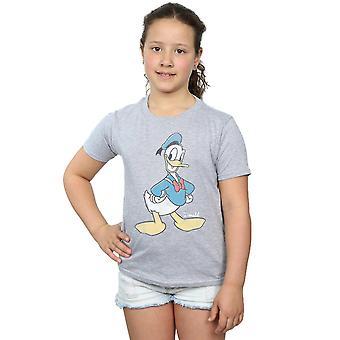 דיסני בנות דונלד דאק קלאסי דונלד T-חולצת