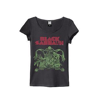 Amplificado camiseta de Black Sabbath Bloody Sabbath mujeres