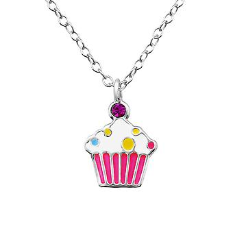 Cupcake - 925 Sterling Silver Necklaces - W36295X