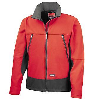 Resultatet Mens Casual Softshell aktivitet pels jakke