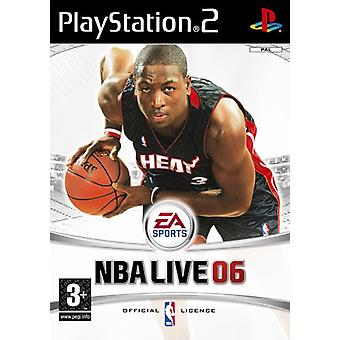 NBA LIVE 2006 (PS2) - New Factory Sealed