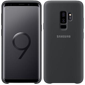 Samsung Silicone Cover EF-PG965TBEGWW für Galaxy S9 Plus G965F Tasche Hülle Case Schwarz