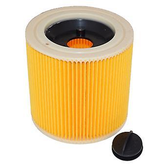 Passer Karcher A2901 og IPX4 våd og tør bølgepap vakuum Filter