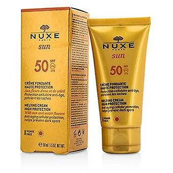 Nuxe サンメルティングクリーム フェイス Spf 50 - 50ml/1.5オンス用高保護