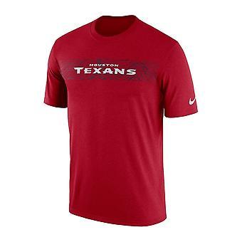 Nike Nfl Хьюстон техасцы оттеснить сейсмических легенда производительности футболку