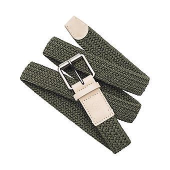 Arcade Hudson Cintura di tessitura in Ivy Green