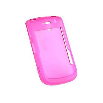 Verizon Snap-On Hard Case pour BlackBerry Bold 9650, Tour 9630 (Translucent Pink) (Bulk Packaging)