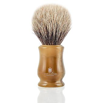 Vie-Long 16650 White Badger Shaving Brush