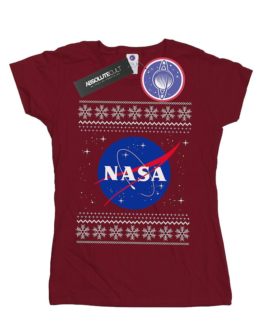 NASA Women's Classic Fair Isle T-Shirt