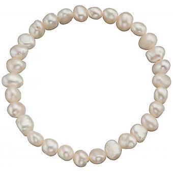 Начало пресноводной жемчужиной культивированный браслет - белый