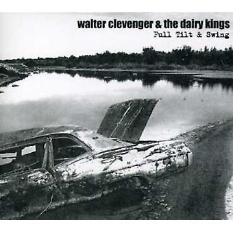Walter Clevenger & the Dairy Kings - Full Tilt & Swing [CD] USA import