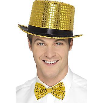 الترتر قبعة، الذهب