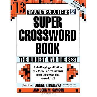 Simon & Schuster's Super Crossword bokserien 13 (Simon & Schuster's Super Crossword bok)