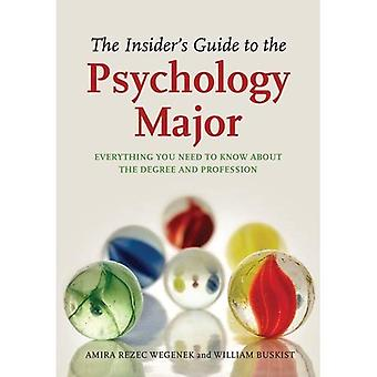 The Insider's Guide to the Psychology Major: Everything You Need to Know about the Degree and Profession