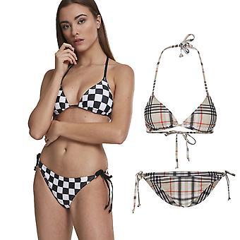 Stedelijke klassiekers dames - CHECK driehoek bikini