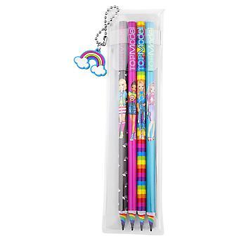 Depesche TOPModel arco iris 6402 lápices, juego de 4