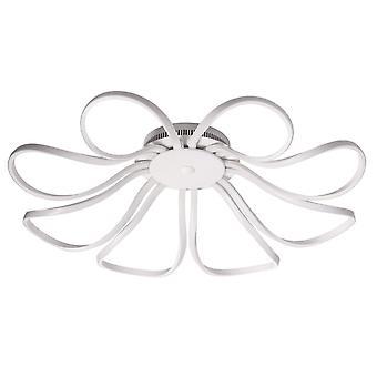 Glasberg - LED Semi-Flush Ceiling Light Eight Light In White 496017008