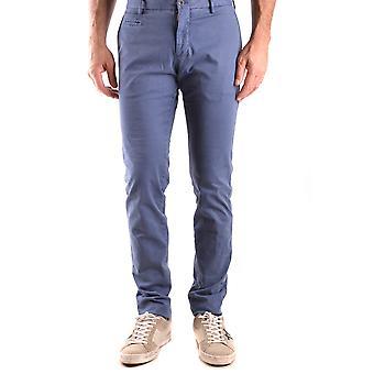 Altea Ezbc048069 Uomini's Pantaloni in cotone blu