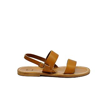 K.jacques Barigoulebrown Men's Brown Leather Sandals