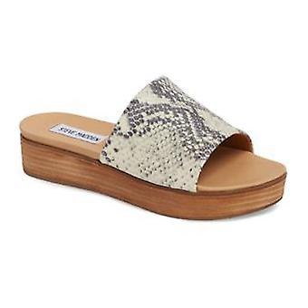 Steve Madden Womens Genca cuir Open Toe occasionnels Slide Sandals
