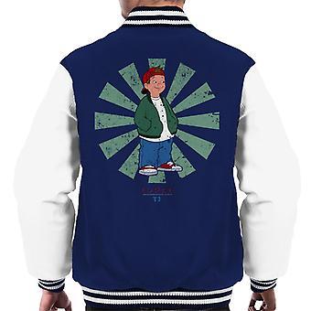 TJ Retro Japanese Recess Men's Varsity Jacket