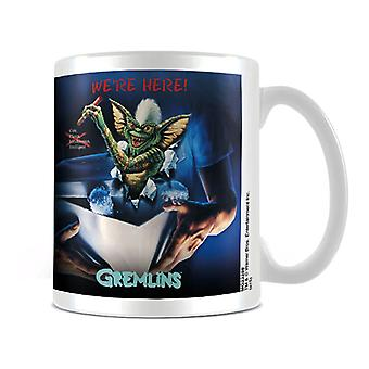 Gremlins We're Here Poster Mug