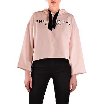 Filosofia Por Lorenzo Serafini Ezbc087042 Women's Pink Cotton Moletom