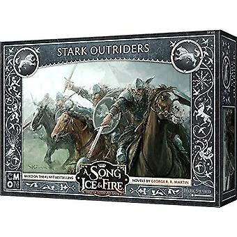 A Song of Ice and Fire - Stark Outriders Expansion Pack Miniatures Game
