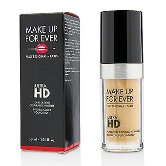 Make up para sempre ultra HD invisível cover Foundation-# Y245 (areia macia)-30ml/1.01 Oz