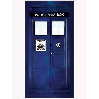 Dr Who Tardis Towel