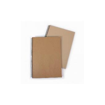Seawhite Hardback Spiral Kraft Book A3