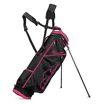 Sun Mountain 2017 Herre to 5 carry Golf taske sort/pink