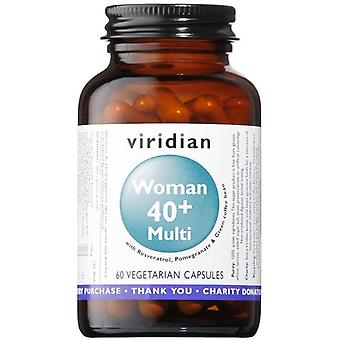 Viridian Women 40+ Multivitamin Veg Caps 60 (109)