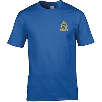 Gurkha henkilö kunta & henkilöstö tuki-lisensoitu Britannian armeijan kirjailtu Premium T-paita