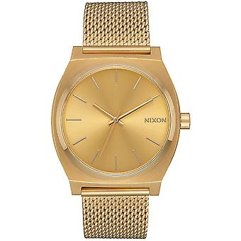 Nixon mini time teller watch for Women Analog Quartz with Stainless Steel Bracelet A1187502