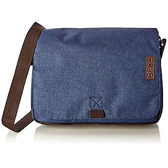 BREE Collection Punch Style 49 Jeans Denim Messen. S19 Unisex-Adult Credit Card Holder Blue 8x38x28 (TxBxH)