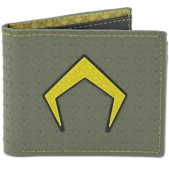 Aquaman Icon Rubber Wallet