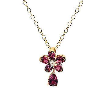 Ivy Gems Woman 925 Silver Pear Pink Garato