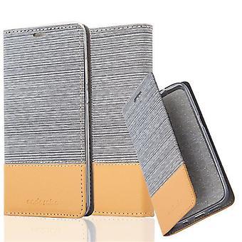 Cadorabo Hülle für Huawei P20 Case Cover - Handyhülle mit Magnetverschluss, Standfunktion und Kartenfach – Case Cover Schutzhülle Etui Tasche Book Klapp Style