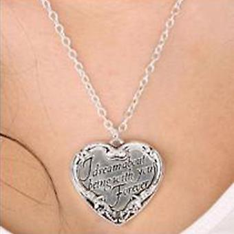 Collier twilight Jewellery Heart Quote