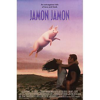 Jamon Jamon (1992) originele Cinema poster
